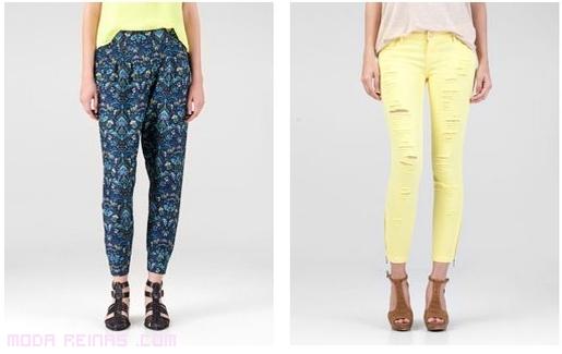 pantalones para look casual
