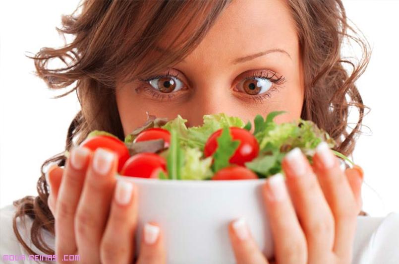 comidas saludables con vegetales