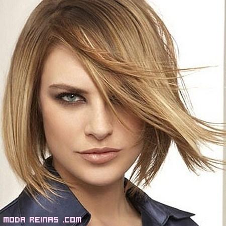 Peinados para disimular una frente ancha