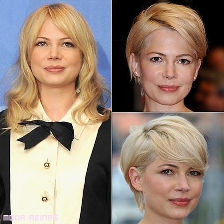 Cambio de look de famosas