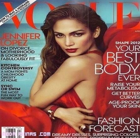 Jennifer López portada de Vogue