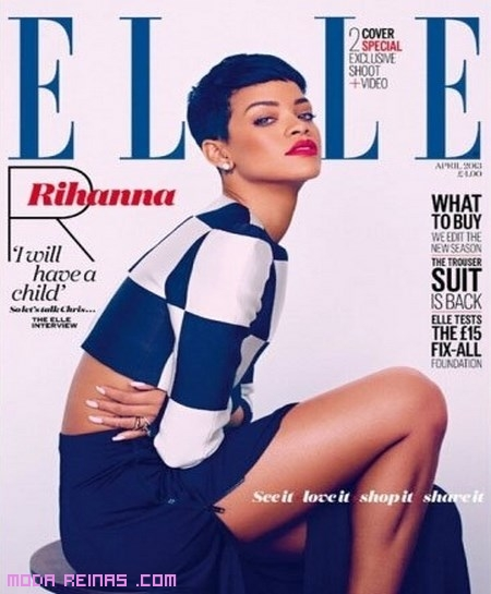 Rihanna pelo corto