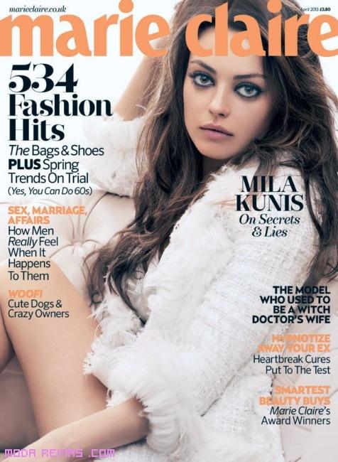 Mila Kunis maquillaje