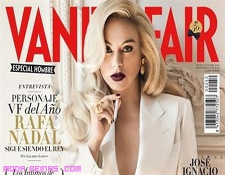 Paulina Rubio portada Vanity Fair