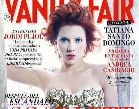 Scarlett Johansson, portada de Vanity Fair