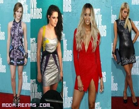 Vestidos cortos de famosas