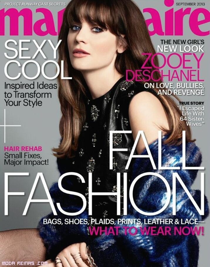 Revistas de moda en otoño