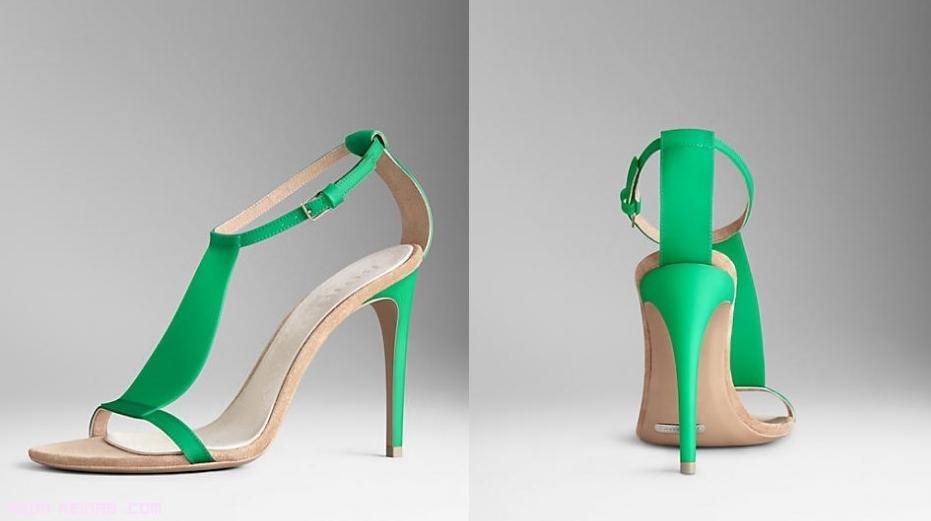 sandalias de fiesta a la moda