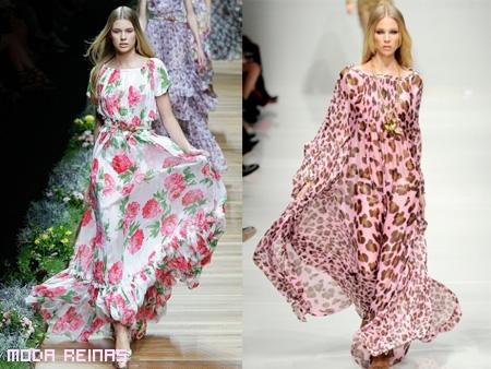Sensación de la moda 2011 MAXIVESTIDOS