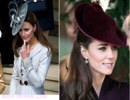 Los sombreros de Kate Middleton