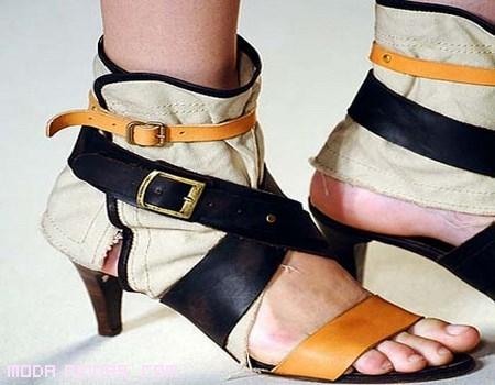 Tacones en botines