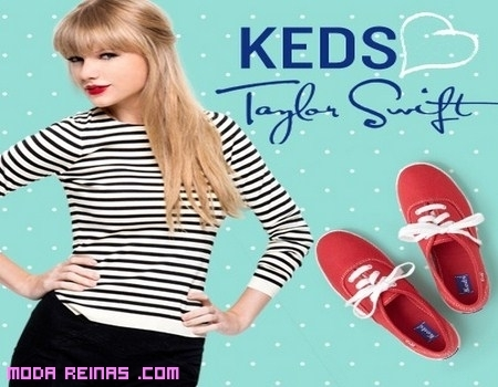 Zapatillas Red y Taylor Swift