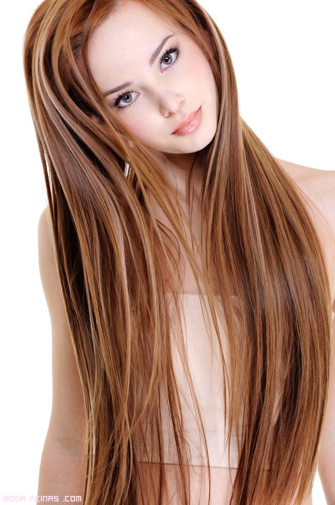 peinados perfectos con pelo liso
