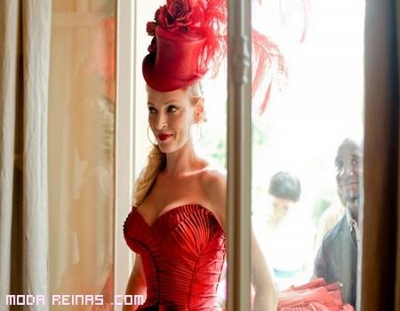 sombreros rojos para fiestas