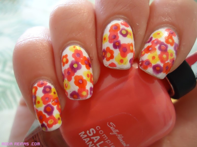 colores neón para uñas