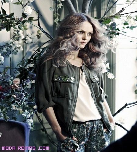 Vanessa Paradis imagen de H&M