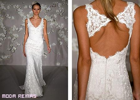 Vestido-de-novia-cenido-con-encajes