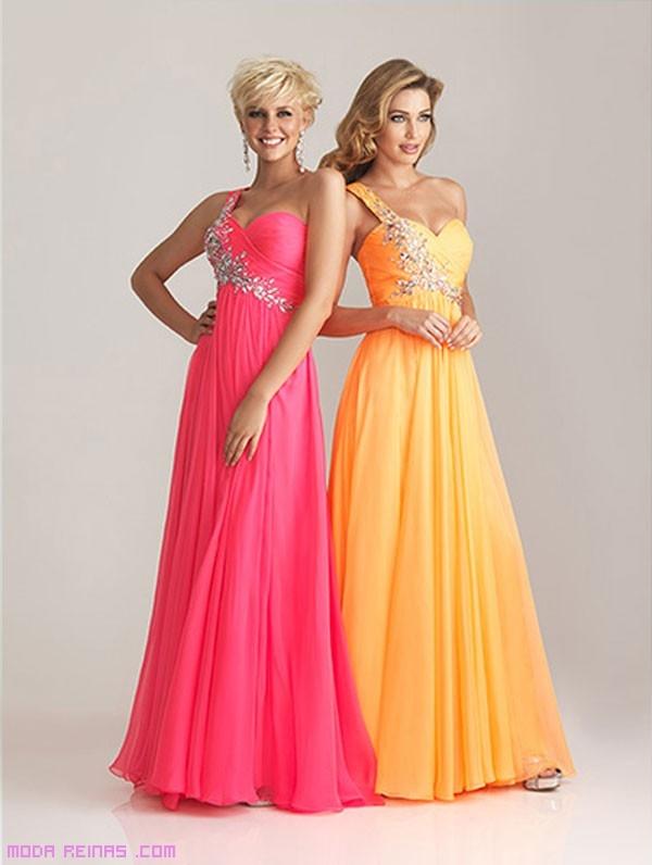 vestidos largos de fiesta en colores