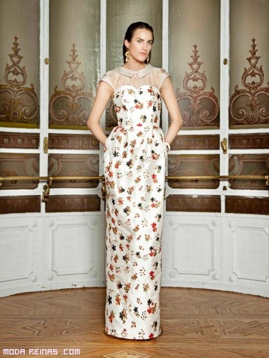 vestidos estampados con flores