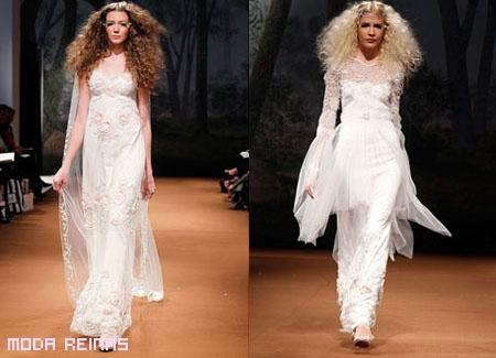 Vestidos de novia románticos a la moda