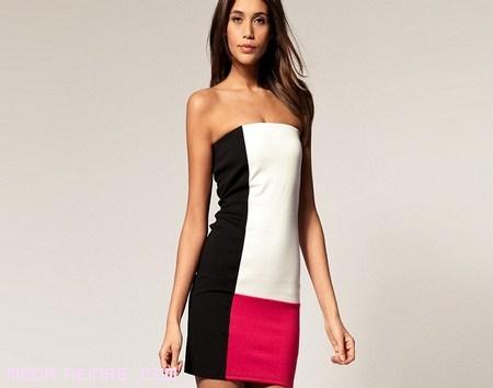 Vestidos strapless de moda