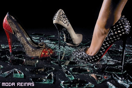 Christian Louboutin lanza zapatos con tachas