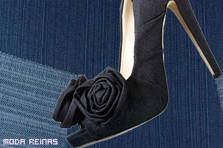 Zapatos en denim Otoño 2010