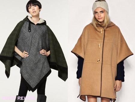 Abrigos capa: la tendencia del Otoño 2011