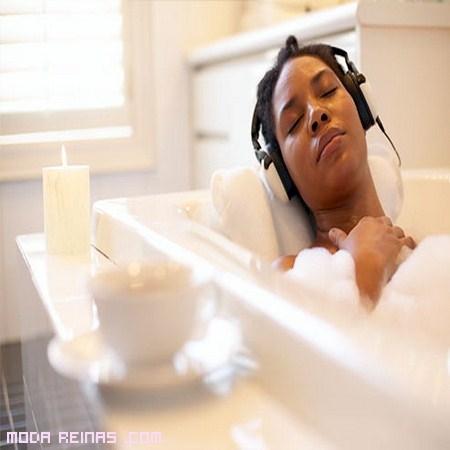 Baños relajantes en casa