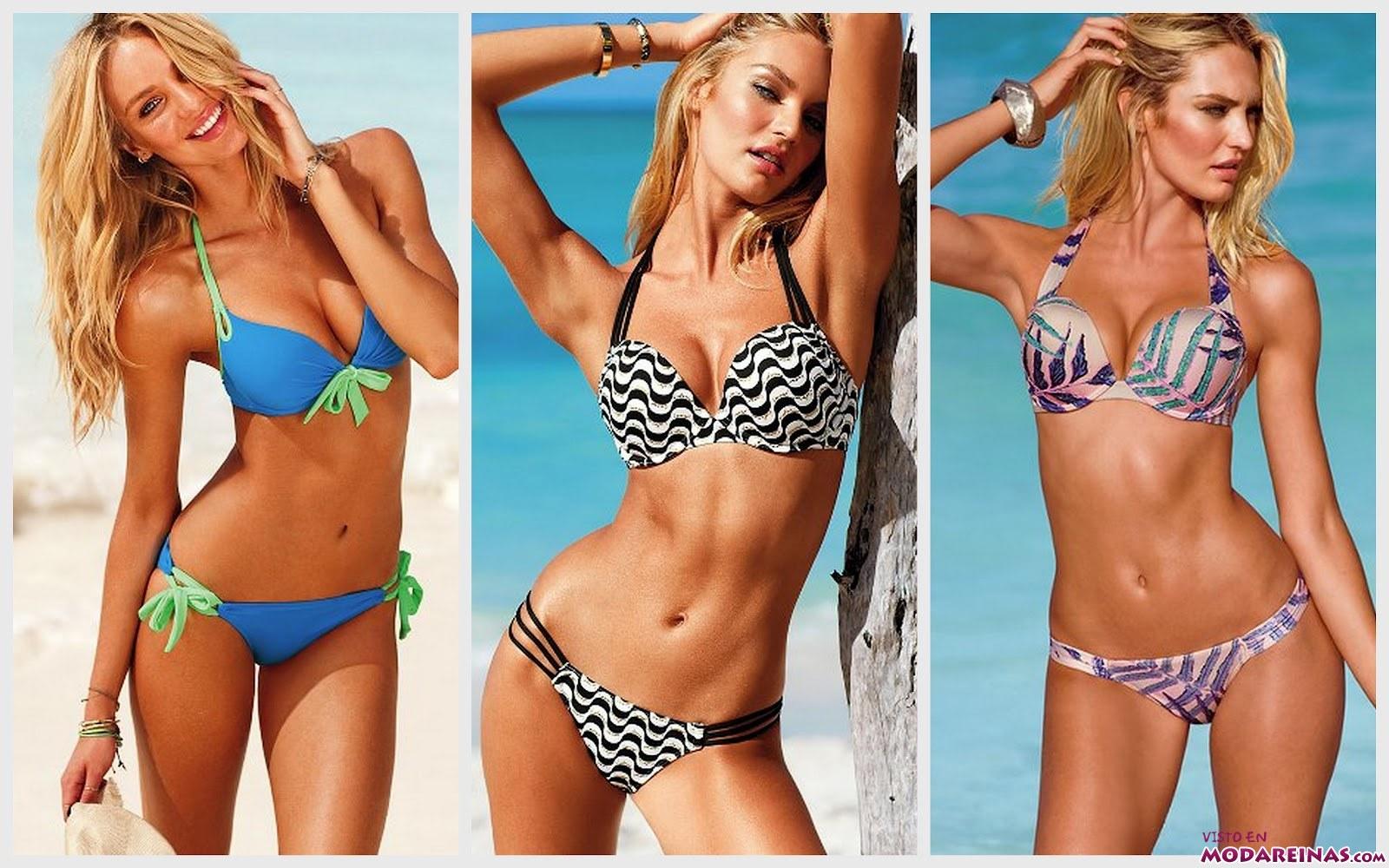 bikinis de colores