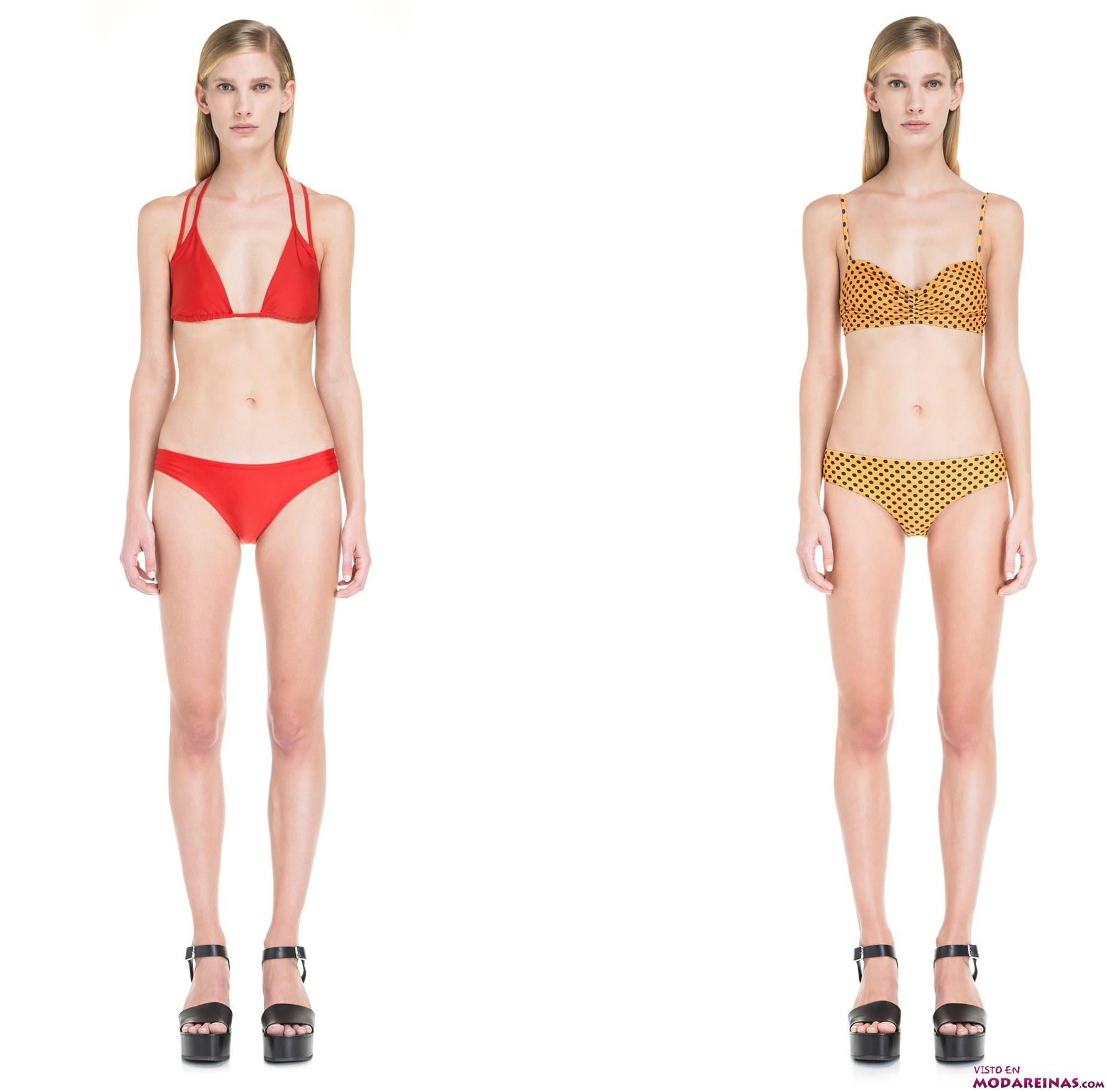bikinis en color de bimba y lola