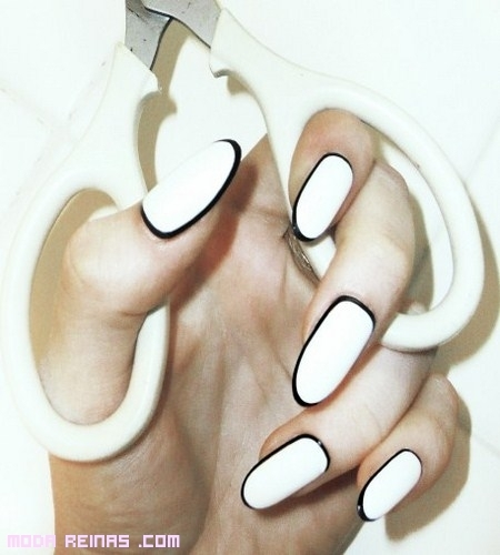 La nueva tendencia en manicure: Border Nails