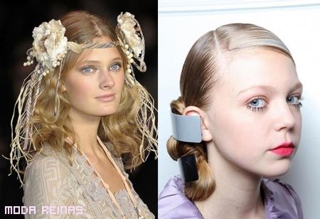 Accesorios para peinados Primavera 2011