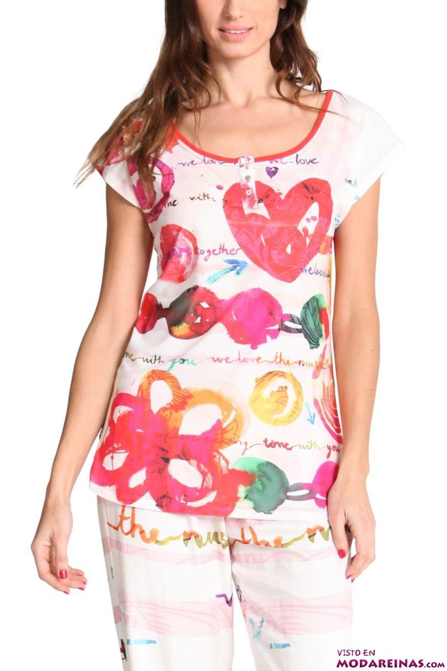 camiseta de pijama Desigual