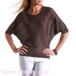 camisetas con cuello redondo