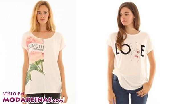 Camisetas Pimkie