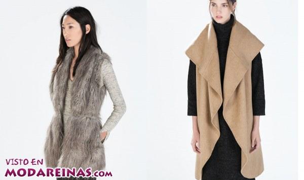 Este otoño no te pierdas los chalecos de Zara