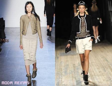 Cómo combinar las chaquetas cortas 2011