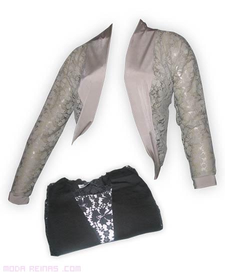 chaqueta de brillo para fiesta
