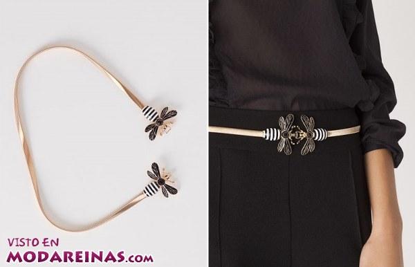 Nuevos cinturones de moda en Blanco