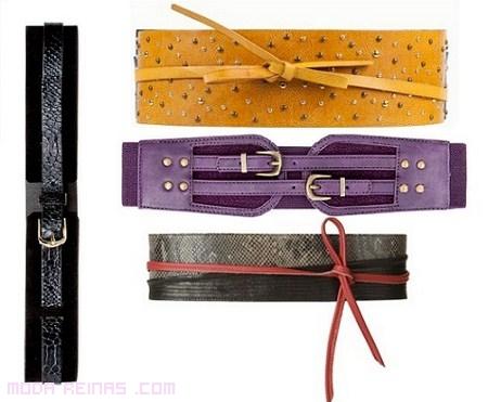 Cinturones fajines