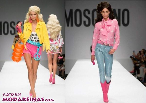 Moschino nos convierte en una Barbie esta temporada 2015