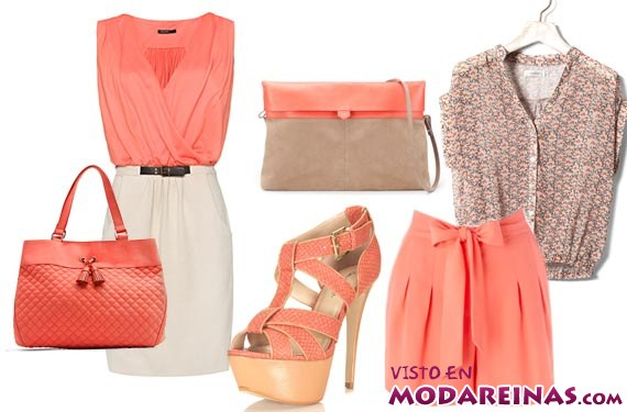 combinar colores en la moda veraniega