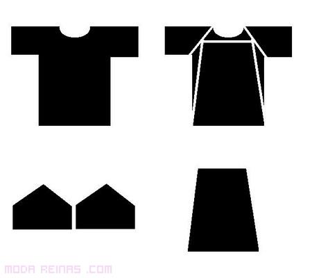 Cómo hacer un vestido de una camiseta