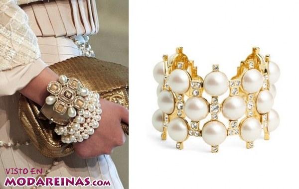 Las perlas siempre marcan tendencia