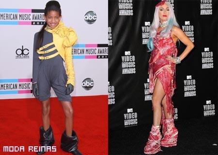 Las peores vestidas del 2010