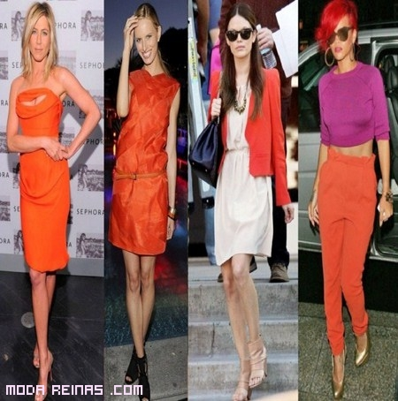 El color mandarina: la tendencia del 2012