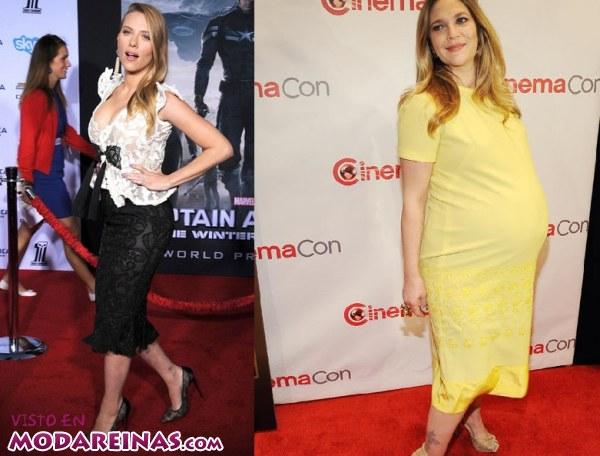 Embarazos de famosas 2014