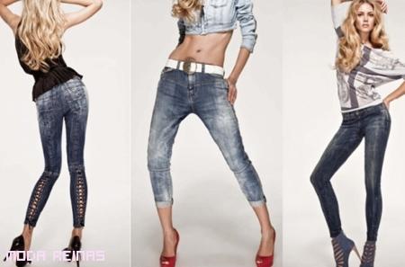 Jeans a la moda Primavera 2011