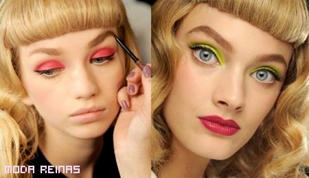 Lo úlimo en maquillaje para ojos 2011